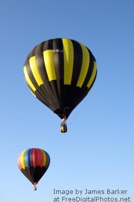 I Hot air balloon fdp