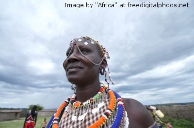 i_ African woman