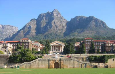 CT UCT_Upper_Campus_landscape_view google