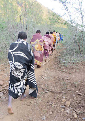 Xhosa initiates