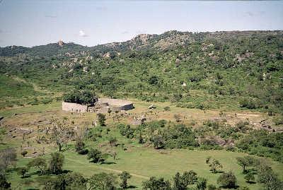 Zimbabwe Ruins from Acropolis
