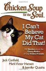 One of the Family tells how our cat with an attitude joined us on a 3-day road trip across South Africa. This Chicken Soup book is available on Amazon.com.