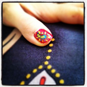 procrastinate with painting nails
